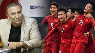 """Huyền thoại bóng đá Iran coi thường tuyển Vn """" Họ là đối thủ yếu, không đáng để chúng ta bận tâm"""""""