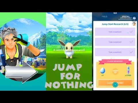 Pokemon Go Jump-Start Research All Quests-Tasks Step By Step