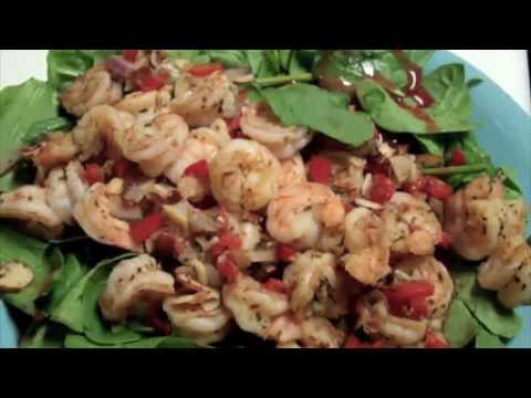 how to make shrimp salad video