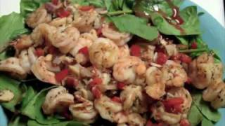 Star Wars: How To Make A Grilled Shrimp Spinach Salad?