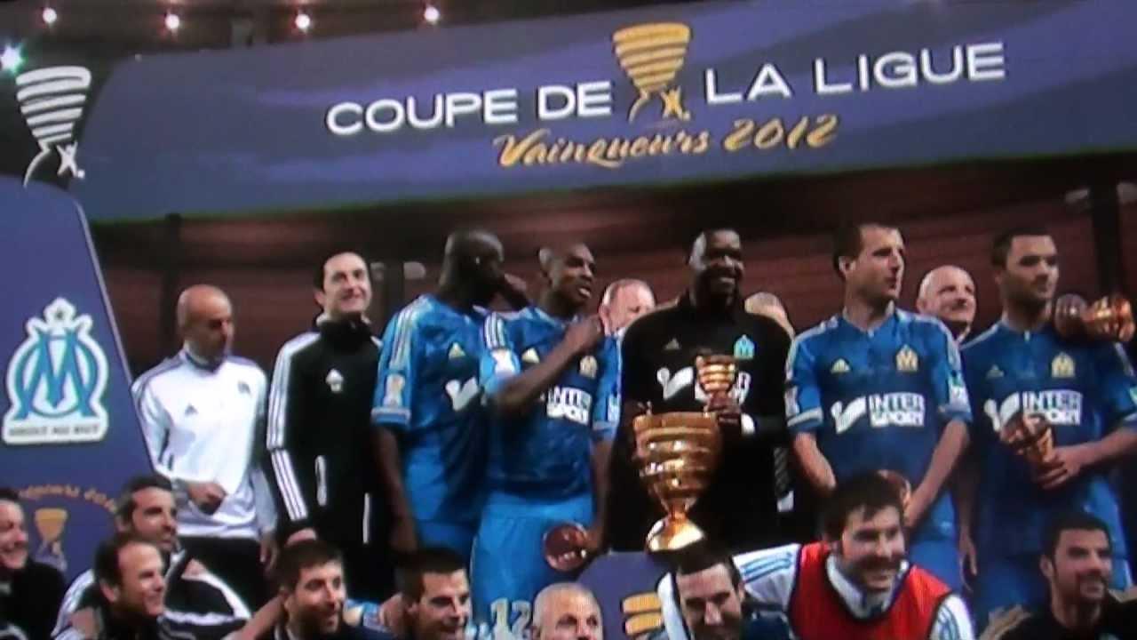 Ol om final coupe de la ligue remise de la coupe de la ligue youtube - Final de la coupe de la ligue ...