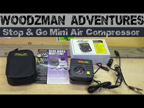 Stop & Go – Portable Mini-Air Compressor for Motorcycles Review Honda Africa Twin