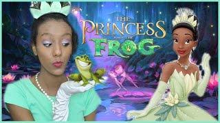 תחפושת הנסיכה טיאנה הנסיכה והצפרדע diy