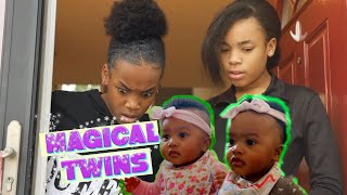 THE MAGICAL TWIN BABIES ~PART 1 ( KIDS SKIT)