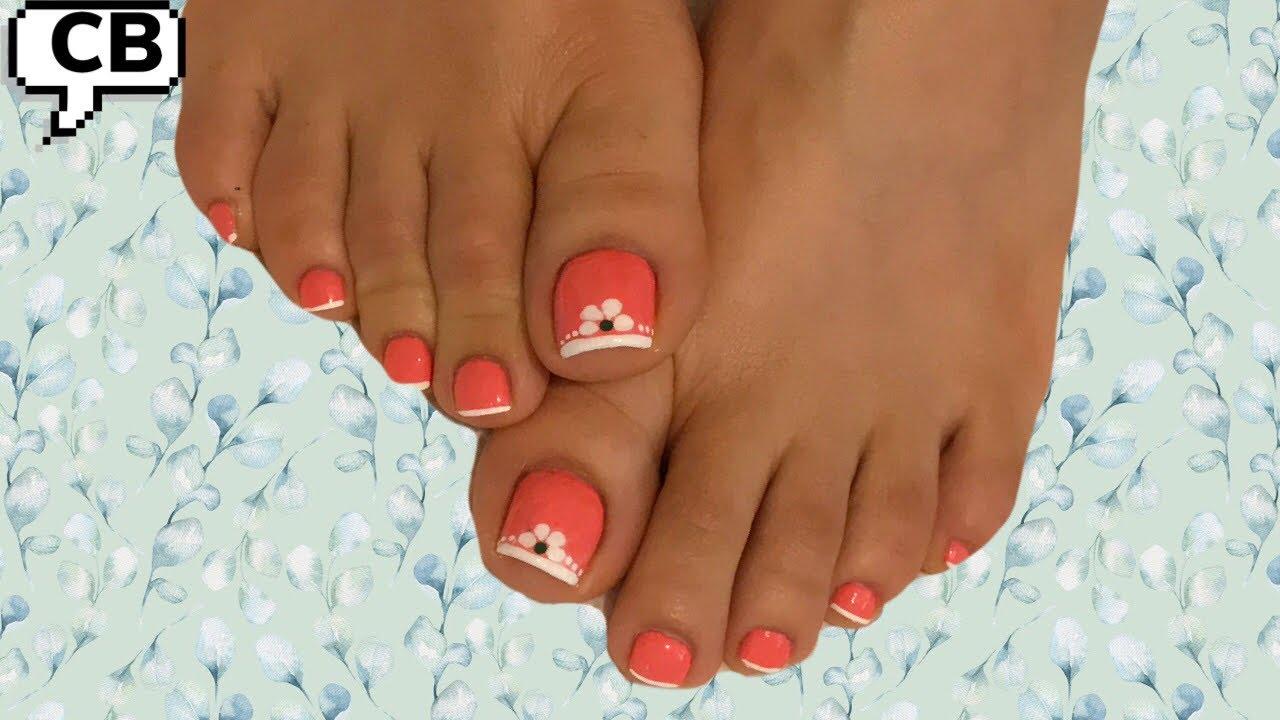 Diseños de uñas faciles y originales para pies