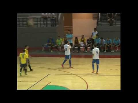 Bank of Beirut Sporting Club smashing USJ in the Lebanese Futsal League 10-1