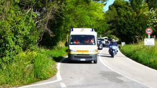 in bicicletta lungo la Strada Panoramica