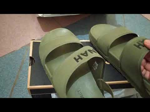 Review LAZE SANDALS BACKSTRAP NAH PROJECT (ARMY GREEN)