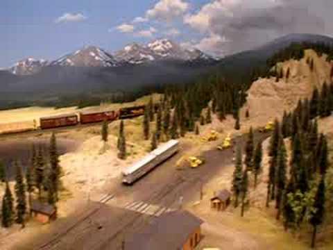 Rio Grande Layout  N Scale Model Train TrainTimeHobby.Com