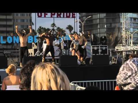 "Asia Monet - Long Beach Pride Performance of ""Go Back""  #AMRTV"