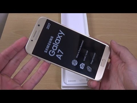 Samsung Galaxy A7 2017 - Unboxing & First look!