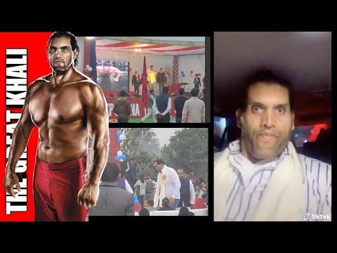 The Great Khali ( WWE Wrestler )💪 In My School 🇮🇳