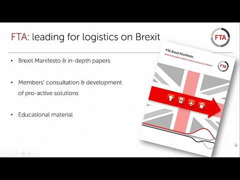 Brexit - what are the implications for logistics - September 2017