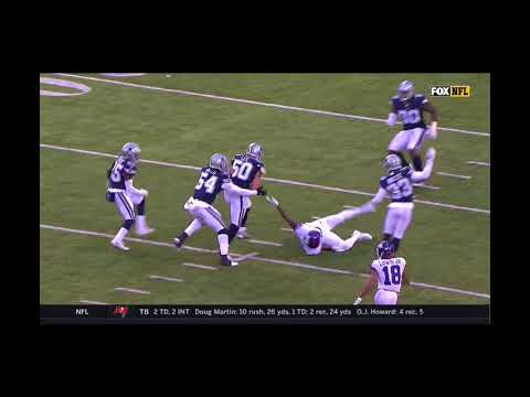 Sean Lee Interception Againt Eli Manning Dallas Cowboys VS New York Giants