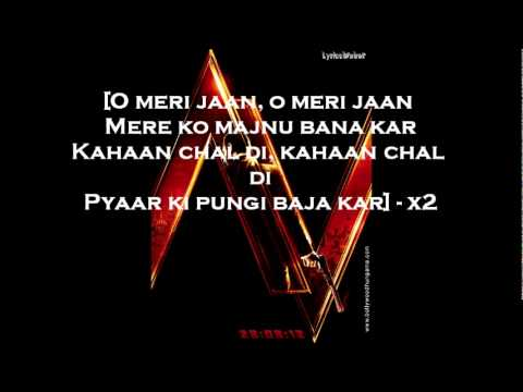 PYAAR KI PUNGI - LYRICS ON SCREEN  - Agent Vinod HD