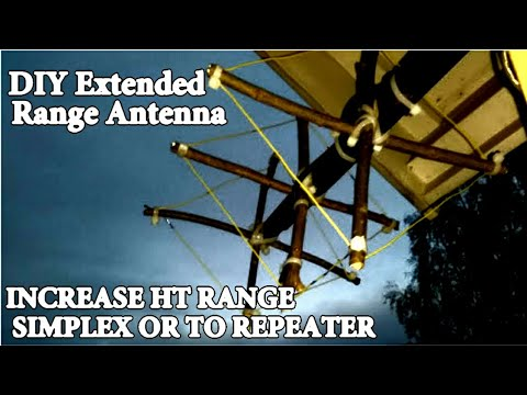 Baofeng Antenna | LONG RANGE Cubical Quad
