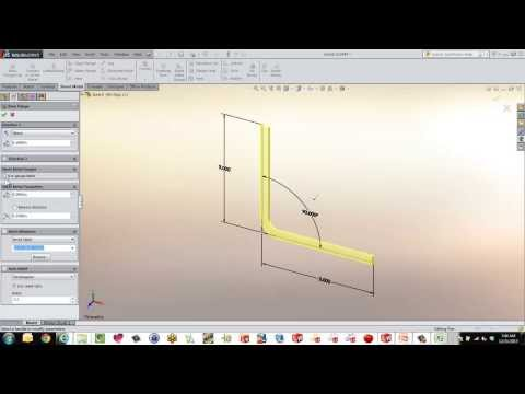 Get going with SolidWorks Sheet Metal Gauge Tables