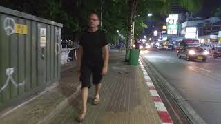 Pattaya Beach Road 11.02.2018 Thailand 2 00am