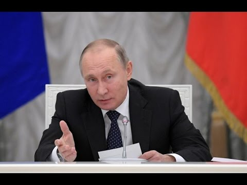 Putin questioned the president of the Russian Academy of Sciences, Yevgeny Fortov
