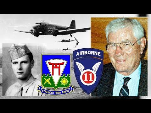 1Sgt. William Dubes, D Company, 511th Parachute Infantry Regiment, 11th Airborne Division