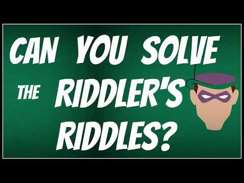 Can You Solve The Riddler