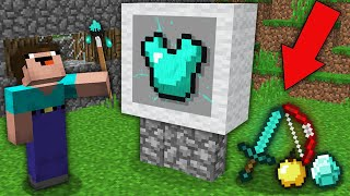 Minecraft NOOB vs PRO: ALL WHAT DRAWS NOOB BECOMES REAL ITEMS! Challenge 100% trolling