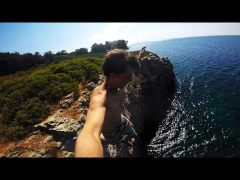 Diving from the best Cliffs - Holiday in Greece 2015