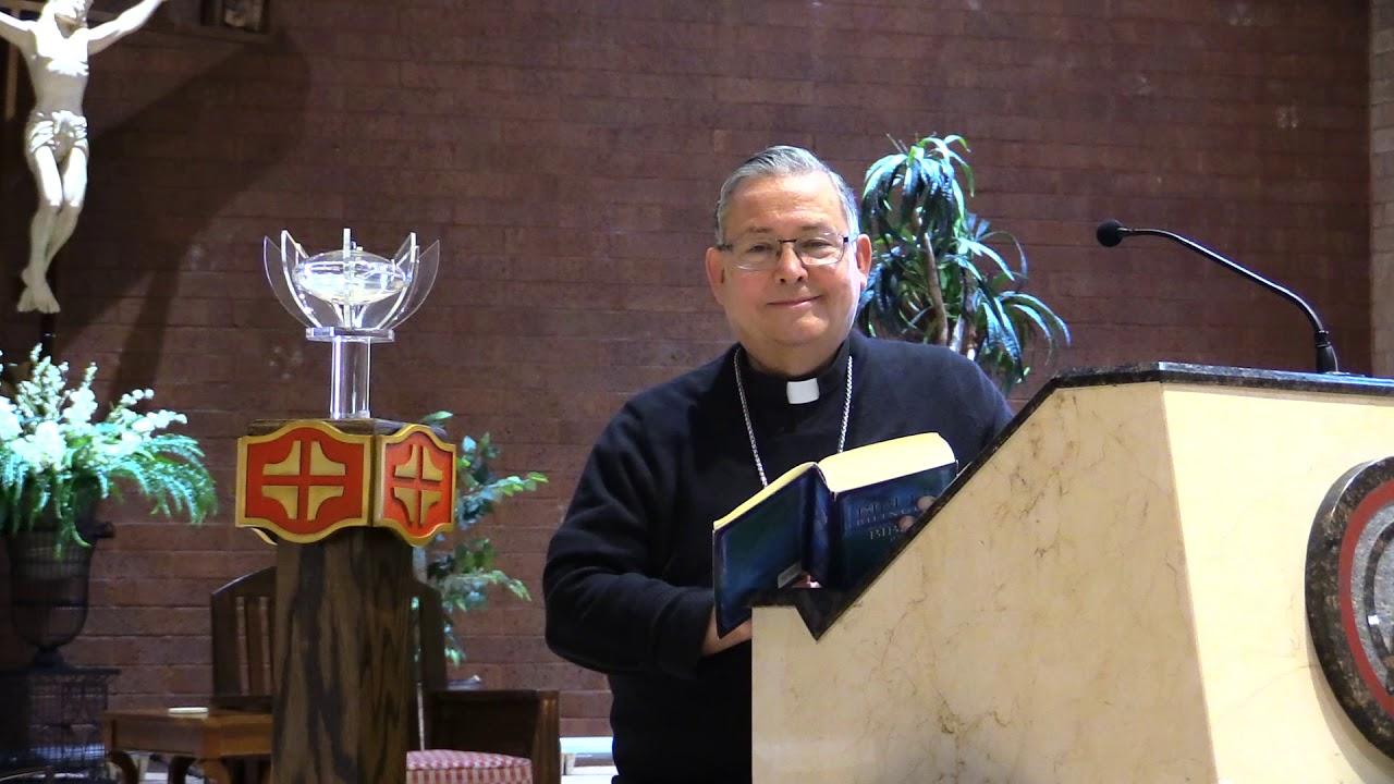 Meditación con el Obispo Auxiliar Eduardo Nevarez