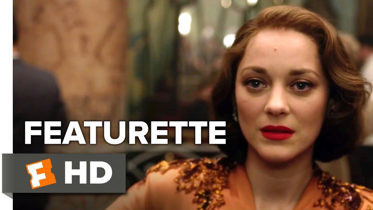 Allied Featurette Marion As Marianne 2016 Marion Cotillard Movie Youtube