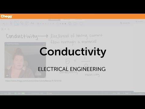 Conductivity | Electrical Engineering | Chegg Tutors