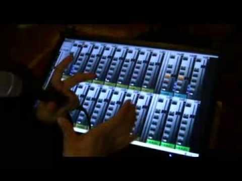 Mezcladora digital 24 canales con efectos y anti-feedback