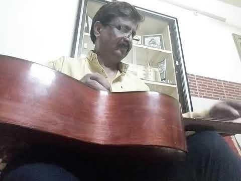 Film Piku sarod theme music played in hawaiian guitar by Rajendra Goswami
