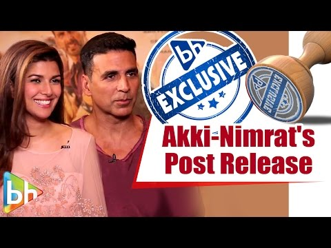 Akshay Kumar | Nimrat | Airlift | Post Release Interview | Flag Scene | Exclusive Full Interview