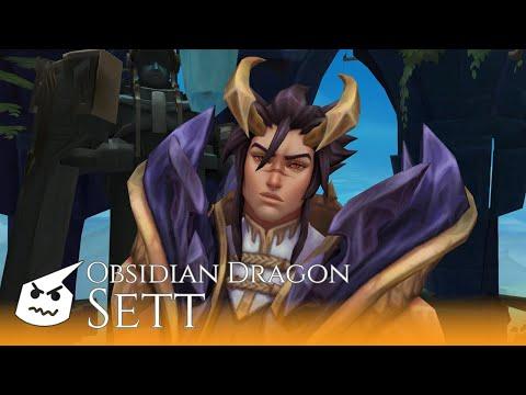 Obsidian Dragon Sett.face