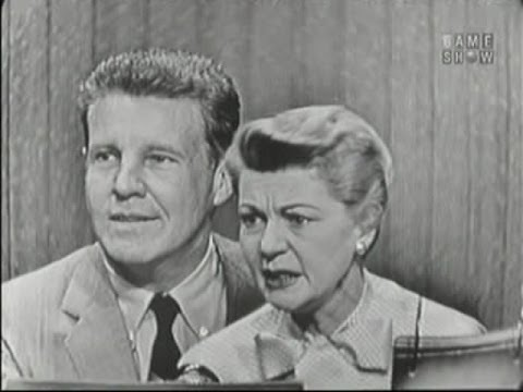 What's My Line? - Ozzie & Harriet Nelson; Hedda Hopper [panel] (May 27, 1956)