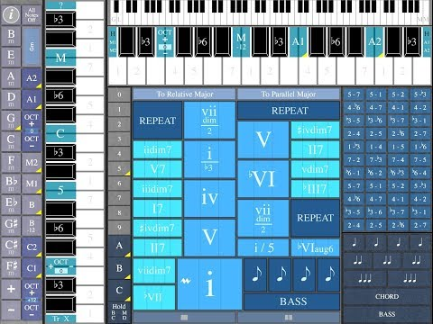 ChordMaps2 - Set Up And Tutorial for the iPad - THIS IS A BRILLIANT APP