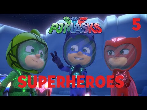 0e04b1c794 Superheroes on the Moon! Shorts Compilation Part 1   PJ Masks   Disney  Junior - YouTube