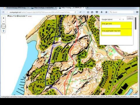 RouteGadget Route Choice Distance Tool YouTube - Map route distance tool