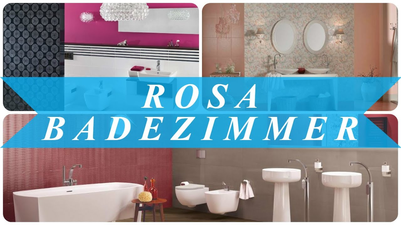 rosa badezimmer youtube. Black Bedroom Furniture Sets. Home Design Ideas