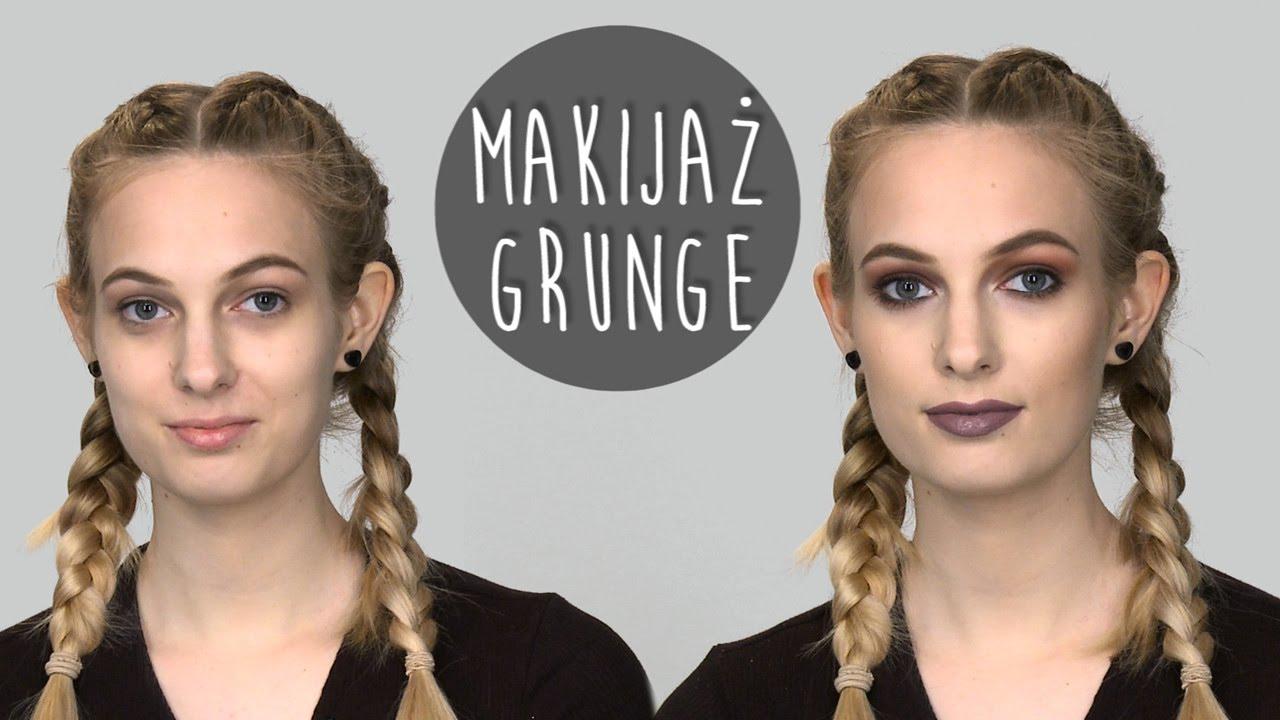 Makijaż W Stylu Grunge Lata 90 Encyklopediamakijażu Youtube