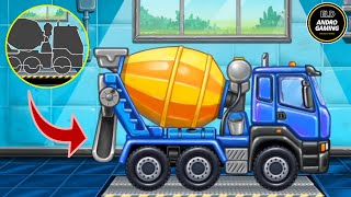 TRUCK GAMES FOR KIDS - PART 2   BUILD A HOUSE ANDROID GAME   CAR WASH KIDS GAME   ELD ANDRO GAMING