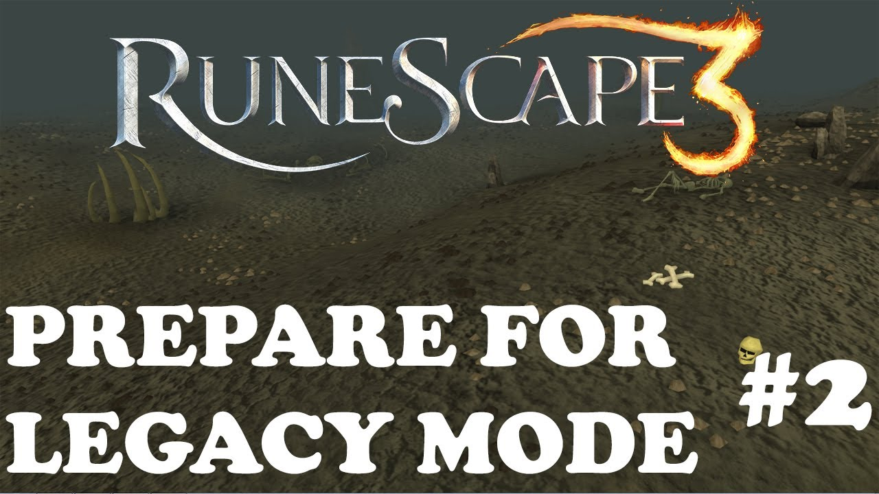 runescape how to get rid of legacy mode