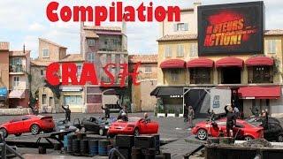 Compilation de crash moteur action à disneyland.