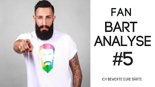 FAN BART ANALYSE #5 - ICH BEWERTE EURE BÄRTE | BARTMANN