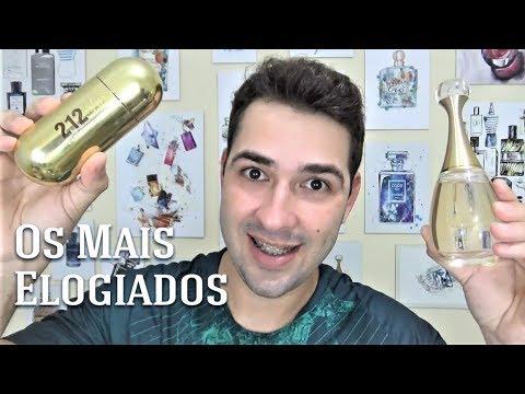 Top 10 - Perfumes Femininos Mais Elogiados