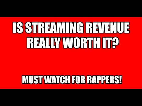 Is Streaming Revenue Worth It? (Beats Music Spotify Bandcamp iTunes Google Play)