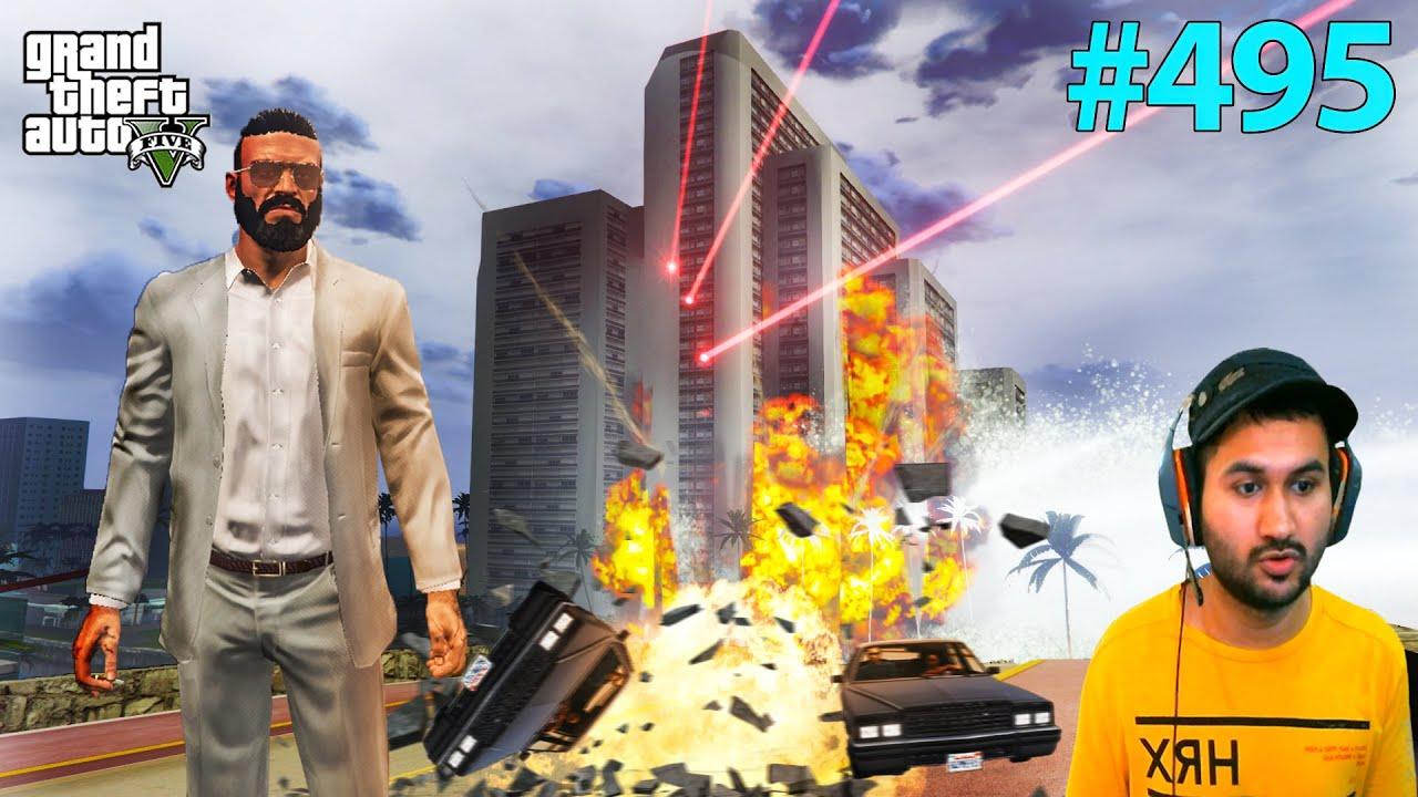 END OF VICE CITY IN GTA 5 | GTA5 GAMEPLAY #495
