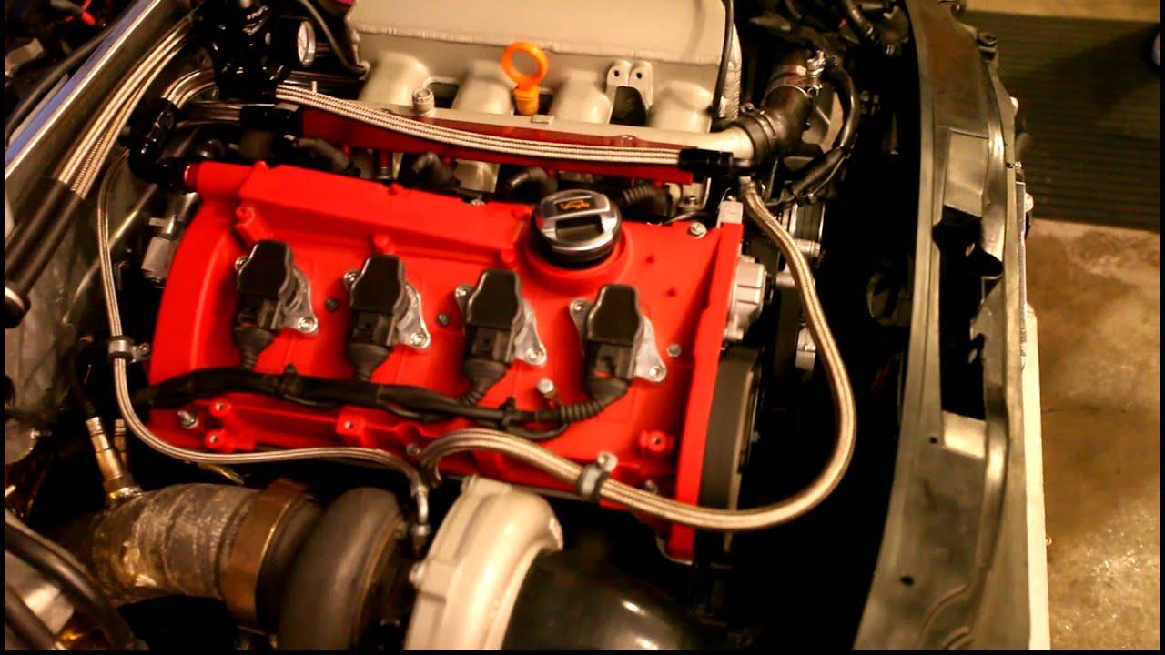 Audi A4 2 0l Stroker First Start Youtube