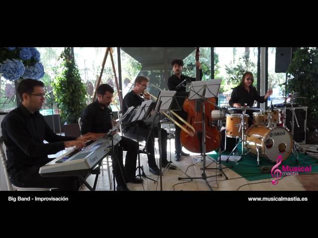 Quinteto Jazz swing soul Eventos Murcia Alicante Almeria Valencia