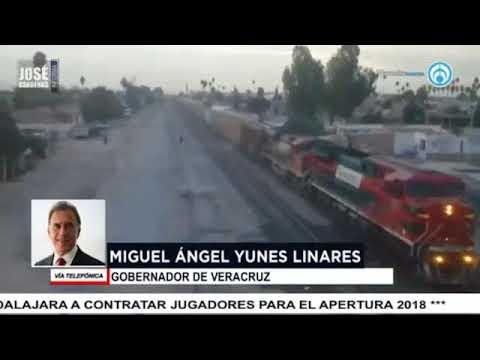 Miguel Ángel Yunes, gobernador de Veracruz, en entrevista con José Cárdenas informa
